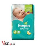 پوشک کودک پمپرز Baby Dry سایز 2