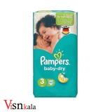 پوشک کودک پمپرز Baby Dry سایز 3