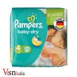 پوشک کودک پمپرز Baby Dry سایز 4 بسته 25 عددی