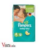 پوشک کودک پمپرز Baby Dry سایز 4