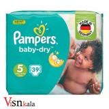 پوشک کودک پمپرز Baby Dry سایز 5