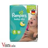 پوشک کودک پمپرز Baby Dry سایز 6