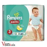 پوشک کودک پمپرز Pants سایز 3