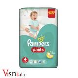 پوشک کودک پمپرز Pants سایز 4