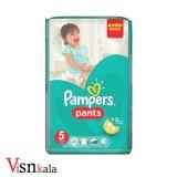 پوشک کودک پمپرز Pants سایز 5