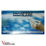 دستکش لاتکس کم پودر MAXPRO سایز M