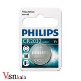 باتری سکه ای فیلیپس CR2032