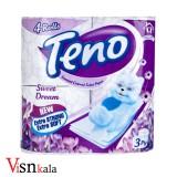 دستمال توالت معطر تنو 4 رول