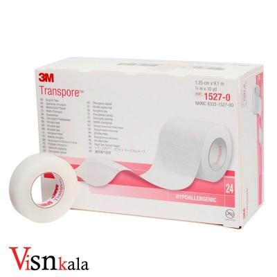 چسب شیشه ای ضد حساسیت 3M عرض 1.25 سانت