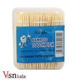 خلال دندان چوبی 150 عددی Bamboo