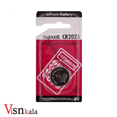 باتری سکه ای Maxell نوع CR2032